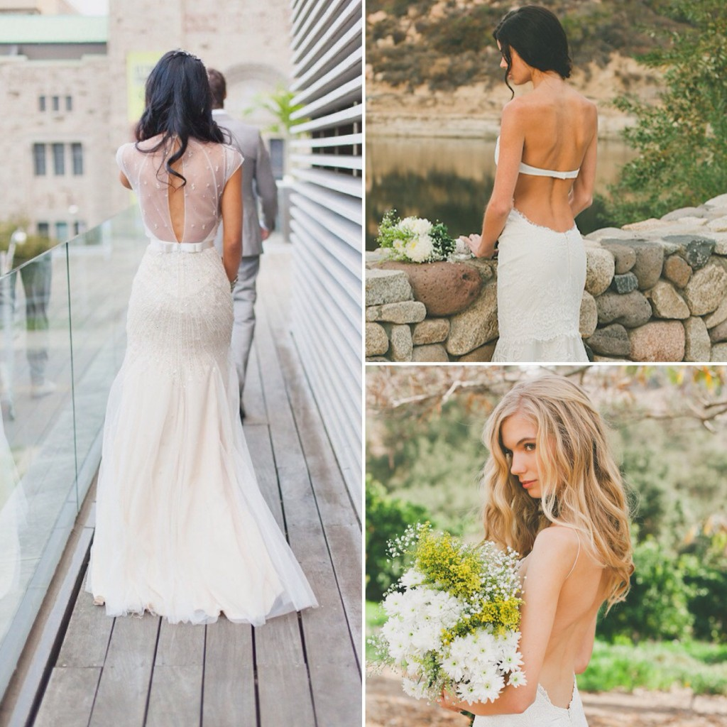 beautiful backless wedding dresses backless wedding dresses Backless wedding dress ideas and inspiration 04