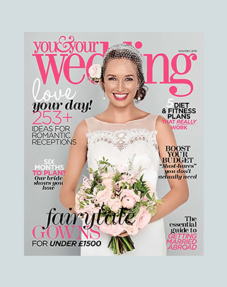 You & Your Wedding │November / December 2015 │ Classic Elegance editorial shoot