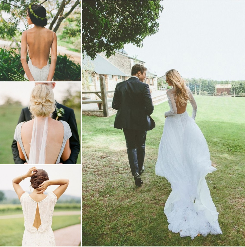 Backless Wedding Dress Ideas And Inspiration 03