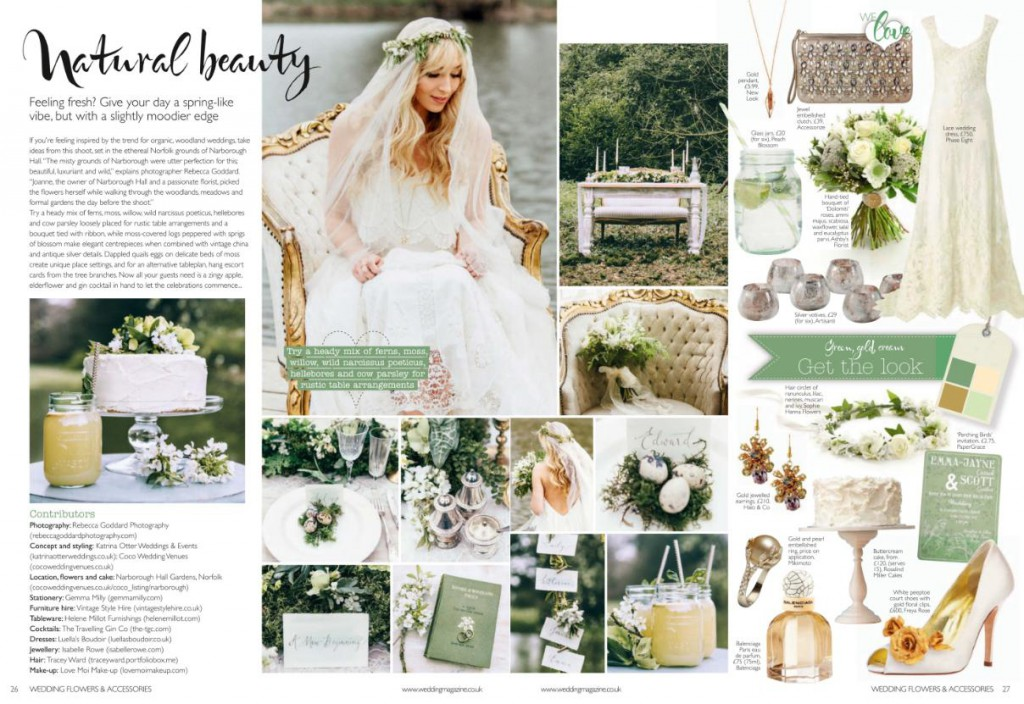 Wedding Planner Magazine | Featured In Wedding Flower Accessories Magazine Wedding Planner Uk