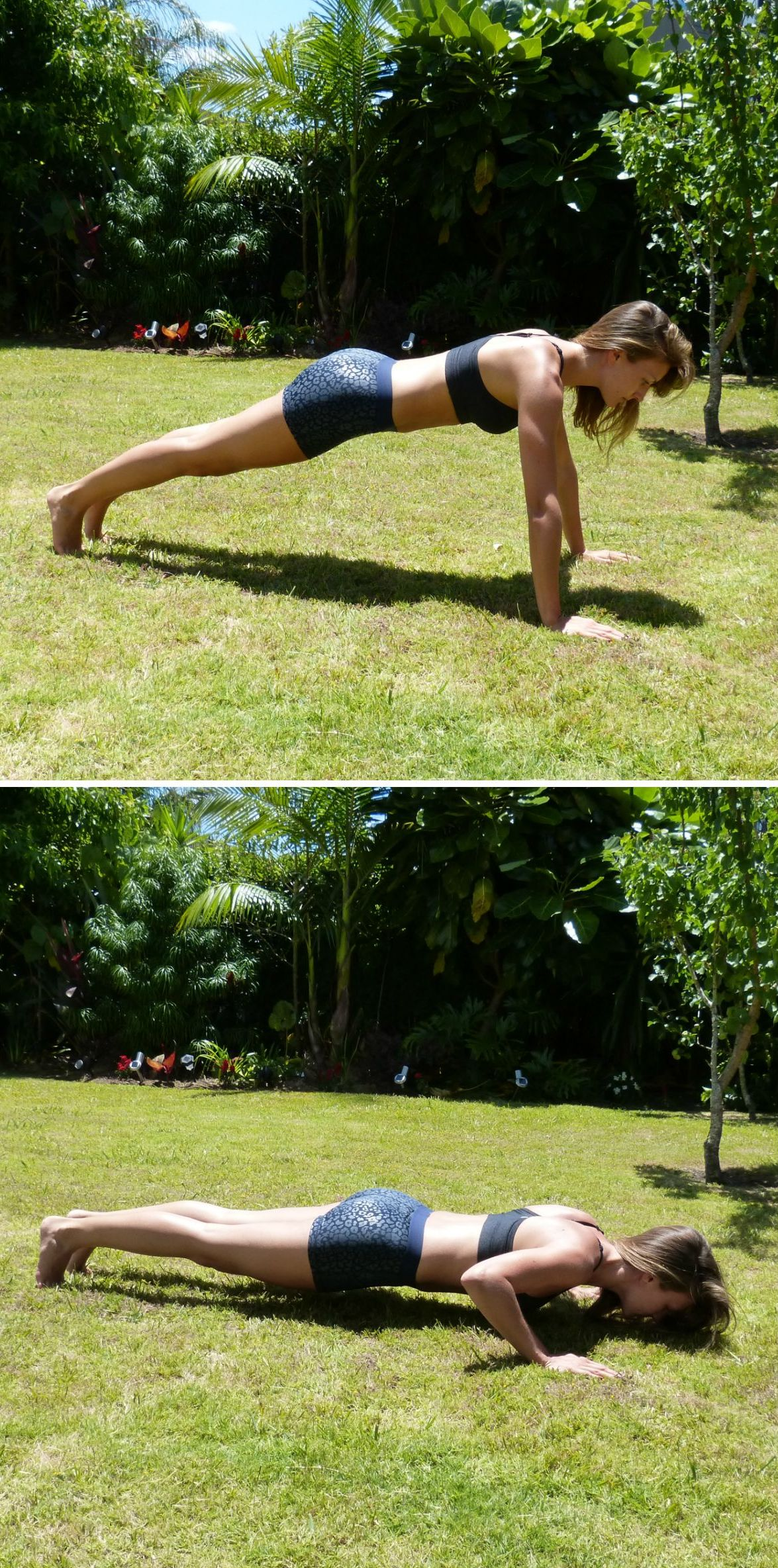 How to Get in Shape Before Your Big Day - Full Press Up