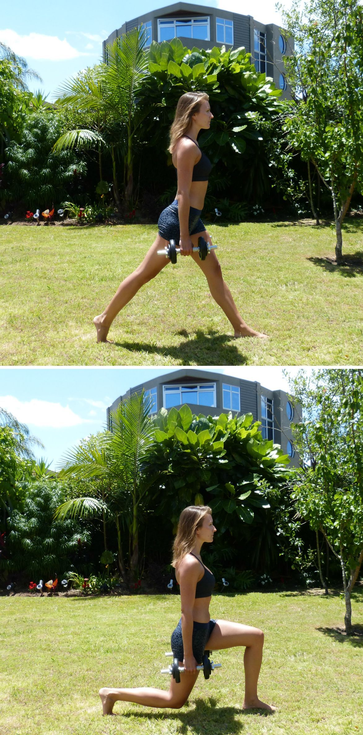 How to Get in Shape Before Your Big Day - Lunges