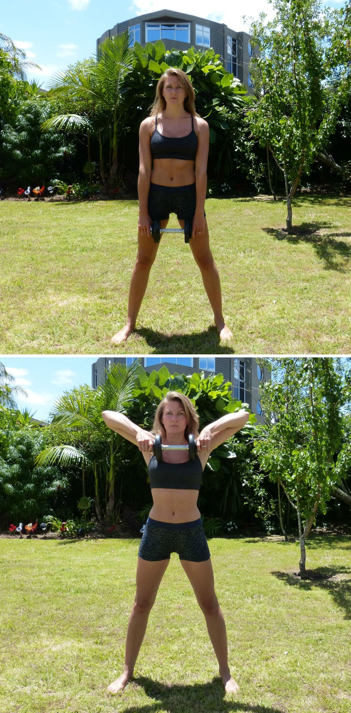 How to Get in Shape Before Your Big Day - Upright Rows